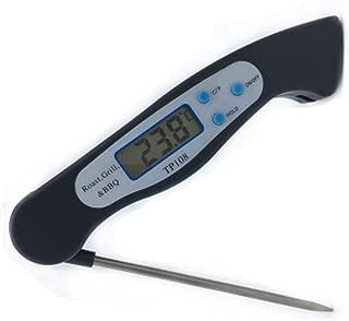 Food Thermometer BBQ Folding Meat Food Probe Kitchen Thermometer for Kitchen BBQ Grill Smoker Meat Oil Milk Yogurt Temperature