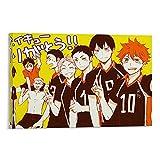 YEQING Anime Haikyuu Volleyball-Poster, Leinwandkunst,