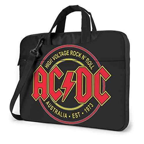 Bolsa de Mensajero de Hombro ACDC Funda para maletín para portátil de 13 Pulgadas 14 Pulgadas 15,6 Pulgadas