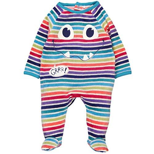 Bóboli 134109, Pelele para Bebé-Niños, Multicolor (Listado Multicolor), 68 (Tamaño del fabricante:68cm)