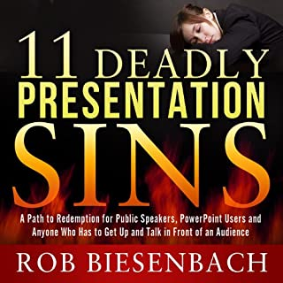 11 Deadly Presentation Sins audiobook cover art