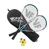 VICFUN Speed Badminton - Set da badminton 100, colore: Bianco