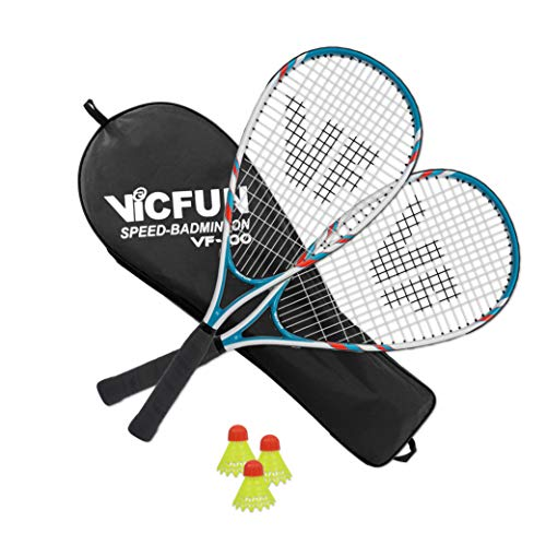 VICFUN Speed Badminton Set Speed Badminton 100 Set white