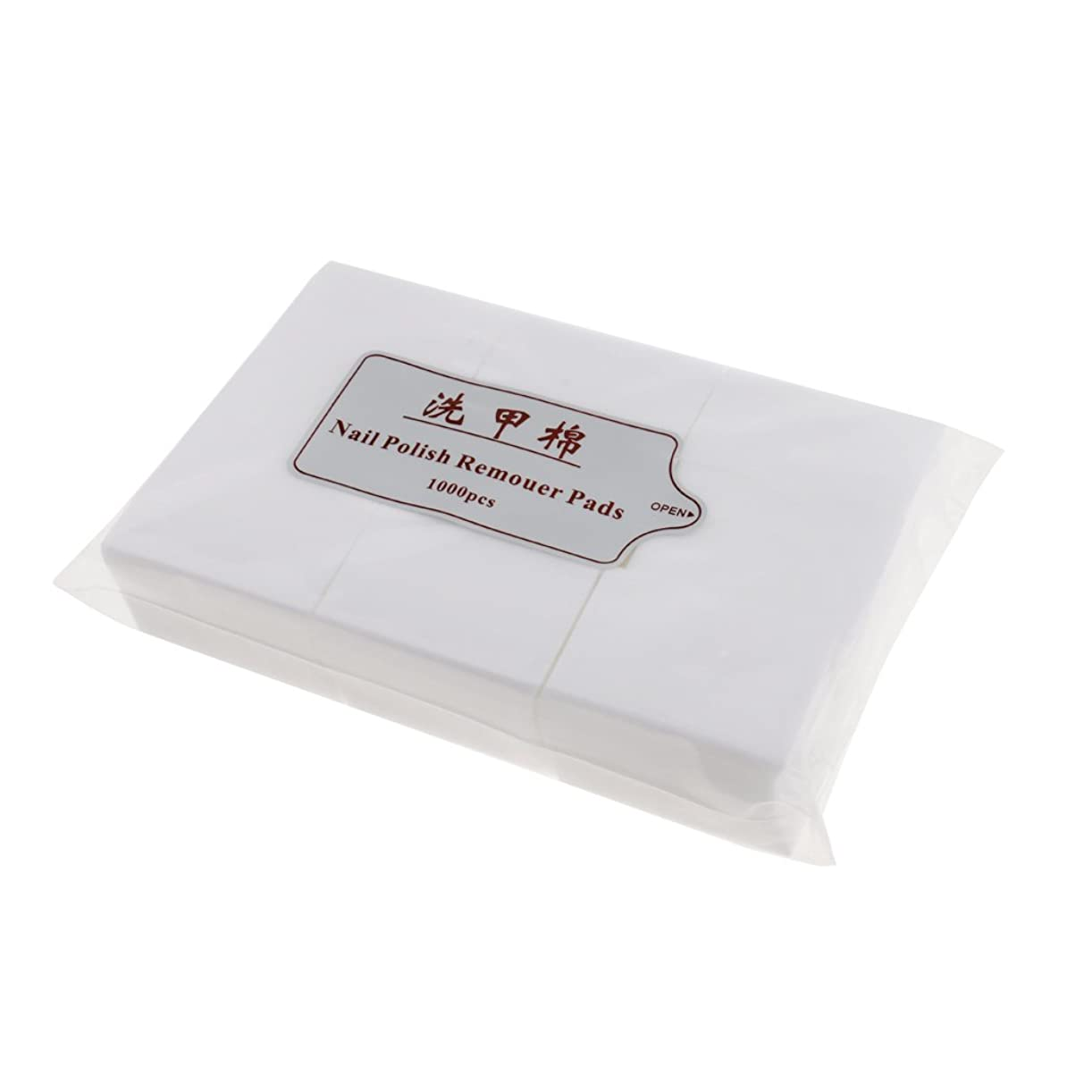 現代の名義でバーターPerfk 約1000個 ネイルコットンパッド ネイルアートチップ パッド紙 マニキュア 吸水性 衛生的 ネイルサロン