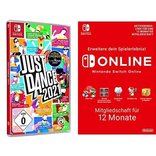 Just Dance 2021 - [Nintendo Switch] + Nintendo Switch Online Mitgliedschaft - 12 Monate   Switch Download Code