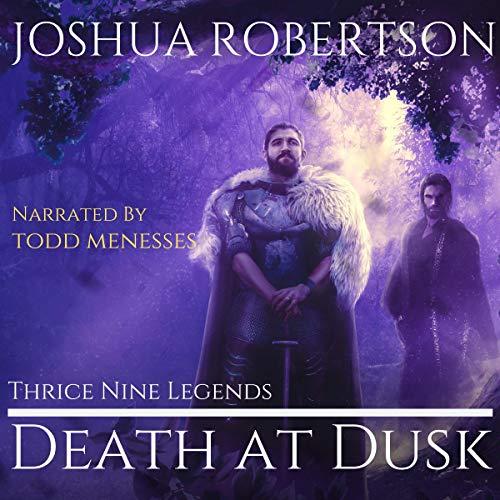 Death at Dusk audiobook cover art