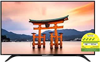 """Sharp 4T-C50BK1X 4K Ultra-HDR Android TV with Google Assistant, 50"""", Black"""