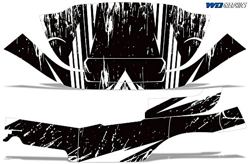 Wholesale Decals Golf Cart Graphics kit Sticker Decal Compatible with Club Car Precedent i2 - Bold Shredded