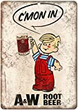 NOT A&W Root Beer Dennis The Menace Tin Signs Metal Poster