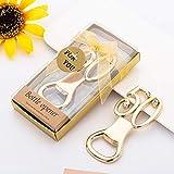 apriscatole oro per 50esimo anniversario di matrimonio, bomboniere, souvenir regalo per gli ospiti 20 pezzi.
