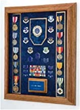 product image for Flag Connections Military Shadow Box, American Made Military Shadow Boxes - Walnut.