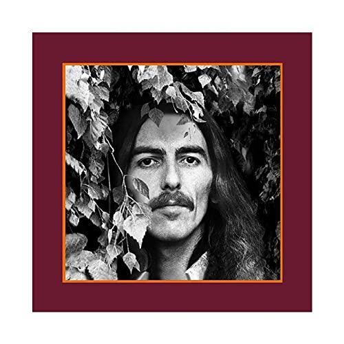 George Harrison - Copertina per album George Harrison, collezione in vinile, decorazione da parete per soggiorno, camera da letto, 30 x 30 cm