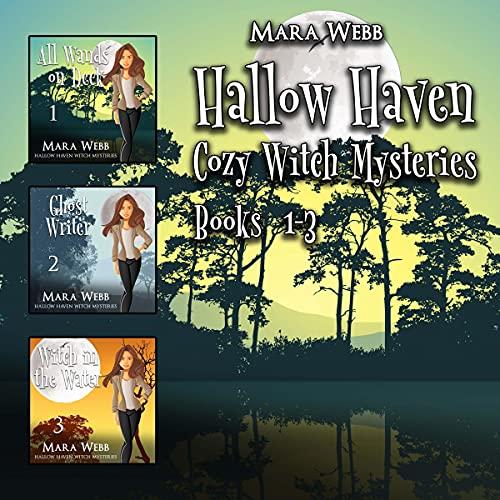 Hallow Haven Cozy Mysteries Bundle Books 1-3 cover art