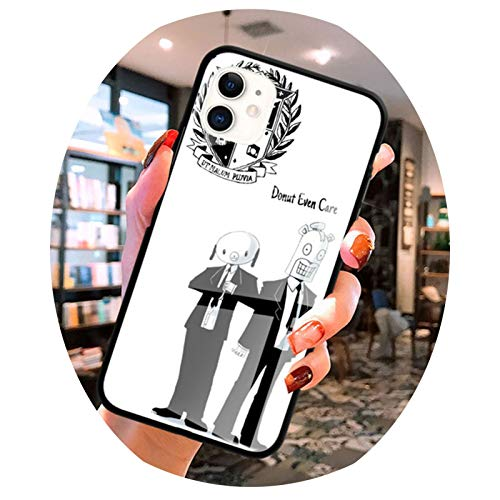 Glass Case For Apple iPhone 12 11 Pro MAX 8 7 XS XR X 6 6S Plus SE 2020 Mobile Phone Coque Fundas Five The Umbrella Academy,T10,for iPhone XS