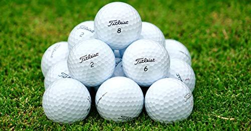 TITLEIST Pro V1Pro V1X Mint Condition Refinished Golf Balls Pack of 40 White