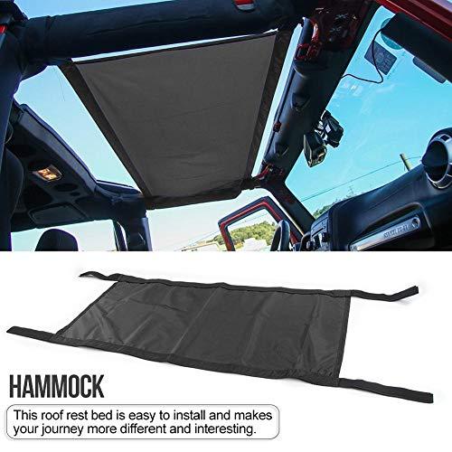 lembrd Autodakhangmat voor jeep, waterdichte autostoelhangmat, autodakbedekking, hangmatbed voor buiten