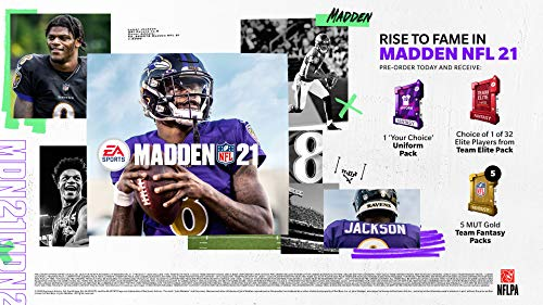 51oemZYLWAL - Madden NFL 21 - Xbox One