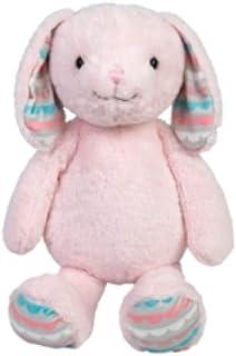 """Fao Schwarz 20"""" Pink Plush Stuffed Bunny Rabbit Pinky Large Soft Fluffy"""