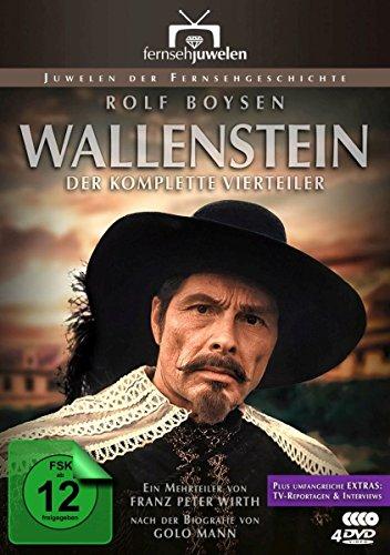 Wallenstein - Der legendäre ZDF-Vierteiler nach Golo Mann + Bonus: Reportagen & Interviews (Fernsehjuwelen) [4 DVDs]