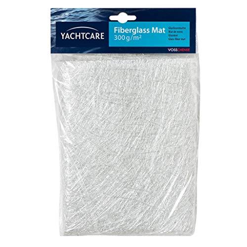SOLOPLAST 137188 Mat de verre 300 g/m, Blanc
