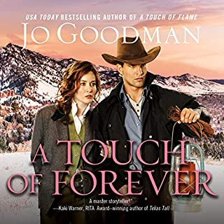 A Touch of Forever audiobook cover art