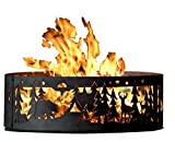 PD Metals Lagerfeuer Fire Ring–Northwoods Campingplatz (48in. Durchmesser X 12in. H)