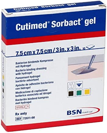 BSN Medical/Jobst 7261100 Cutimed Sorbact Antimicrobial Hydrogel Dressing (0)