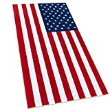 American Flag Beach Towel 30 x 60 inch (76 x 152 cm) USA Patriot...