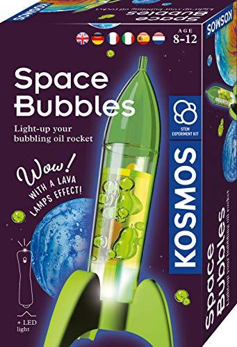 Kosmos 616786 SpaceBubbles - Mini Raketen Lavalampe Experimentier Set für Kinder mit mehrsprachiger Anleitung (DE, EN, FR, IT, ES, NL)