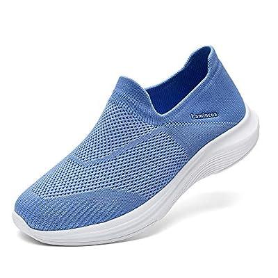 Lamincoa Women's Sock Walking Shoes Casual ...