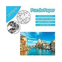PengShi 75 * 50センチ収納袋1000ピース紙パズル子供教育玩具寝室の装飾ステッカー