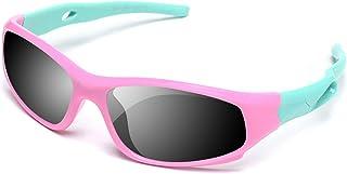YAMAZI Children Sports Polarized Sunglasses For Kids Boys...