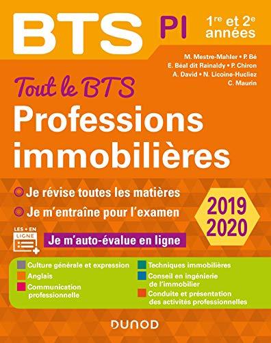 Tout le BTS Professions immobilières - 2019-2020 : 1re et 2e années (Tout en un)