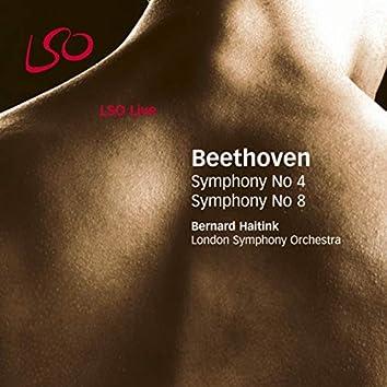 Beethoven: Symphonies Nos. 4 & 8