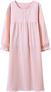 Ragazze 2018 Moda Principessa Estate Sleepwear Ragazze Camicie da Notte Lace /& Bowknot Abito Pigiama Manica Corta Rosa//Blu
