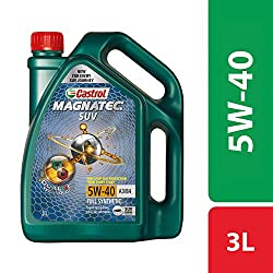 Castrol MAGNATEC SUV 5W-40 Full Synthetic Engine Oil for Petrol, CNG and Diesel SUVs (3L),Castrol