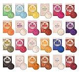 DEWEL 24er Epoxidharz Farbe, Mica Pulver Farbpigmente Epoxidharz Metallic Farbe Resin Farbe...