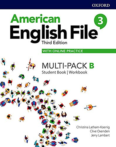 American English File: Level 3: Student Book/Workbook Multi-Pack B with Online Practice