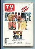 TV GUIDE 08/03/85- GRAND RAPIDS EDITION- DAVID HASSELHOFF- CATHERINE HICKLAND