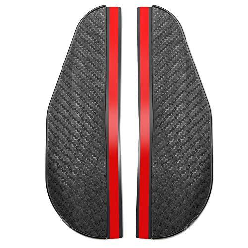 Autozubehör Carbon Fiber Look Auto Regen Augenbraue, Für für Volkswagen VW Golf MK5 Golf MK3 Polo 9n 6r 6n Scirocco Tiguan 2019