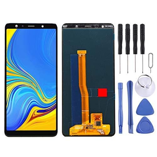 Reparatie Onderdelen Vervanging LCD-scherm en Digitizer Volledige montage voor Galaxy A7 (2018), A750F / DS (zwart), Zwart