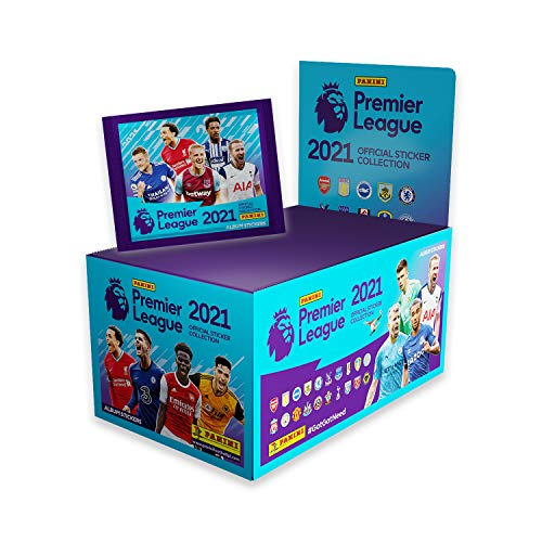 Panini Premier League 2021 Sticker-Kollektion (x100 Packungen)