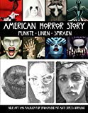 American Horror Story Punkte Linien Spiralen: Neue Art von Malbuch für Erwachsene mit Anti Stress Wirkung