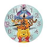 Reloj decorativo de pared con pilas de reloj digital silencioso sin garrapatas