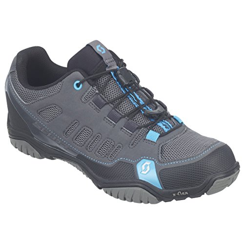Scott Sports Womens Crus-r Sport/Mountain Cycling Shoe - 242150-5140 (Anthracite/neon Blue - 36.0)