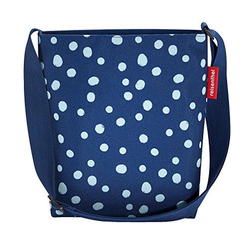 reisenthel shoulderbag S Spots Navy - Schultertasche Umhängetasche 4,7L blau getupft