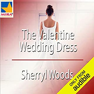 The Valentine Wedding Dress audiobook cover art