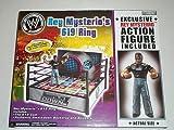 Jakks Pacific Rey Mysterio's 619 WWE Anillo de lucha libre y figura...