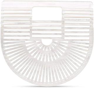 Cult Gaia Women's 20002ACPRL White Acrylic Handbag