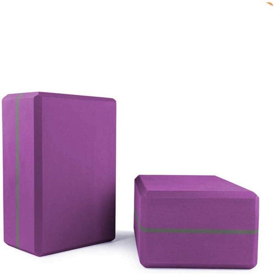 WLXP Yoga Block Brick Pilates Great interest Purple Environmentally EVA Fitness Milwaukee Mall